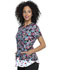 Photograph of Prints a La Mode Women Shaped V-Neck Top Decorative Daisies EL830-DRVD