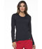 Photograph of Simply Polished Women Underscrubs Knit Tee Black EL915-BLK