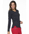 Photograph of Simply Polished Women's Underscrubs Knit Tee Black EL915-BLK