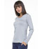 Photograph of Simply Polished Women's Underscrubs Knit Tee Gray EL915-GRY