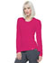 Photograph of Simply Polished Women's Underscrubs Knit Tee Red EL915-RUE