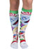 Photograph of Cherokee Women's Knee Highs 12 mmHg Compression Rudolph Face Off FASHIONSUPPORT-RURFO
