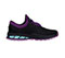 Photograph of Infinity Footwear Shoes Women's FLY Black with Purple and Aruba FLY-BKNE