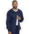 Photograph of Genuine Dickies Industrial Strength Unisex Unisex Warm-up Jacket Blue GD300-NAV
