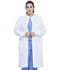 "Photograph of Dickies Genuine Dickies Industrial Strength Unisex 43"" Snap Front Lab Coat in White"