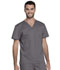 Photograph of Dickies Genuine Dickies Industrial Strength Unisex Tuckable V-Neck Top in Pewter