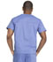 Photograph of Dickies Genuine Dickies Industrial Strength Unisex V-Neck Top in Ciel Blue