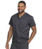 Photograph of Dickies Genuine Dickies Industrial Strength Unisex V-Neck Top in Pewter