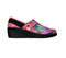 Photograph of Infinity Footwear Shoes Women's GLIDE Multi Color Print with Black GLIDE-MPBK