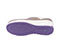 Photograph of Infinity Footwear Shoes Women's GLIDE Taupe with Lavender and White GLIDE-TLWH