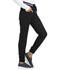 Photograph of Break on Through Women Rib Knit Waist Jogger Black HS090P-BCKH
