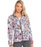 Photograph of HeartSoul Prints Women's U Da Bom Zip Front Jacket Patterns And Posies HS301-PATS