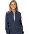 Photograph of Break on Through Women's U Da Bomb Bomber Jacket Blue HS310-BTNY