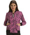 Photograph of HeartSoul Prints Women's Zip Front Bomber Jacket Ace Of Lace HS311-AOWB