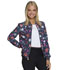 Photograph of HeartSoul Prints Women's Zip Front Bomber Jacket Love U For Daisies HS311-LVUD