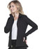 Photograph of Break on Through Women's Zip Front Warm-up Jacket Black HS315-BCKH
