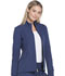 Photograph of Break on Through Women's Zip Front Warm-up Jacket Blue HS315-NAYH