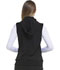 Photograph of Break on Through Women Zip Front Vest Black HS500-BCKH
