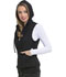 Photograph of Break on Through Women's Zip Front Vest Black HS500-BCKH
