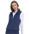 Photograph of Break on Through Women's Zip Front Vest Blue HS500-NAYH