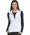 Photograph of Break on Through Women Zip Front Vest White HS500-WHIH