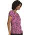 Photograph of HeartSoul Prints Women's Mock Wrap Top Ace Of Lace HS602-AOWB