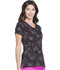Photograph of HeartSoul Prints Women's V-Neck Top Cosmic Love HS610-COSL