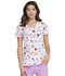 Photograph of HeartSoul Prints Women's V-Neck Top Dreamy Doodles HS610-DRDD