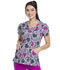 Photograph of HeartSoul Prints Women V-Neck Top Loving Paisley HS610-LVPY
