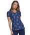 Photograph of HeartSoul Prints Women's V-Neck Top Tropical Love HS610-TRLO