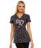 Photograph of HeartSoul Prints Women's V-Neck Top Floral Ever In My Heart HS614-FLVR
