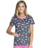 Photograph of HeartSoul Prints Women's V-Neck Top I'm Owl Fancy HS614-IMOW