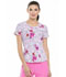 Photograph of HeartSoul Prints Women's Sweetheart Neck Top Reaching For The Stars HS616-RESS