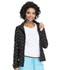 Photograph of HeartSoul Prints Women's Zip Front Warm-up Jacket A Work Of Heart HS618-AWHR