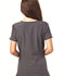 Photograph of Break on Through Women's Mock Wrap Top Gray HS619-PEWH