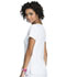 Photograph of Break on Through Women's Beat of My Heart V-Neck Top White HS627-BTWH