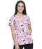 Photograph of HeartSoul Prints Women's V-Neck Top Believe In Love HS629-BVLV