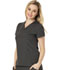 Photograph of Break on Through Women's V-Neck Top Gray HS650-PEWH