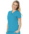 Photograph of Break on Through Women's V-Neck Top Blue HS650-TURH