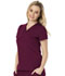 Photograph of Break on Through Women's V-Neck Top Red HS650-WINH