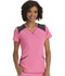 Photograph of Break on Through Women's V-Neck Top Pink HS652-PNKH