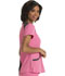 Photograph of Break on Through by HeartSoul Women's Heart Zips A Beat V-Neck Top Pink HS652-PNKH