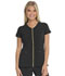 Photograph of Love Always Women's Zip Front V-Neck Top Black HS655-BAPS