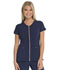 Photograph of Love Always Women's Zip Front V-Neck Top Blue HS655-NYPS