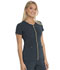 Photograph of Love Always Women's Zip Front V-Neck Top Gray HS655-PWPS