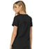 Photograph of Break on Through Women's V-Neck Top Black HS660-BCKH