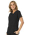 Photograph of Break on Through Women's Love 2 Love U V-Neck Top Black HS660-BCKH