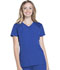 Photograph of Break on Through Women's V-Neck Top Blue HS660-GLXH