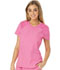 Photograph of Break on Through Women's V-Neck Top Pink HS660-PNKH