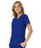 Photograph of Break on Through Women's V-Neck Top Blue HS660-ROYH